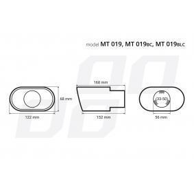 Deflector tubo de escape para coches de AMiO - a precio económico