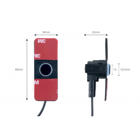 Sensores de estacionamiento 02276 AMiO