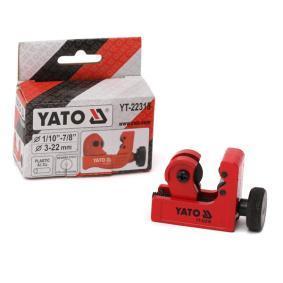 Řezák trubek YT-22318 YATO