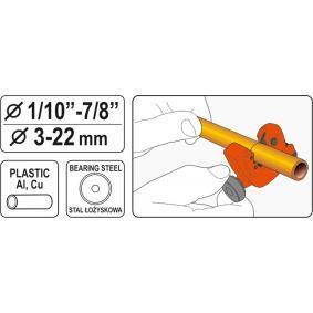 YATO Cortadora de tubos (YT-22318) a un precio bajo