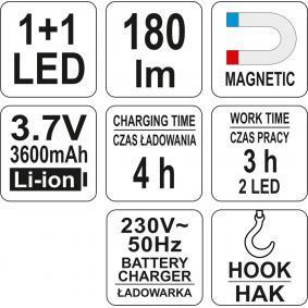 YATO Looplampen YT-08502 in de aanbieding