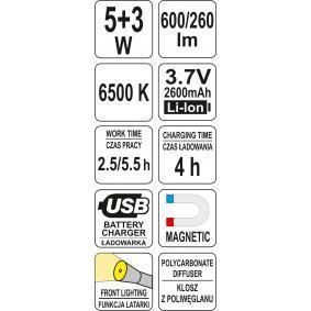 YT-08518 YATO Lampes manuelles en ligne à petits prix