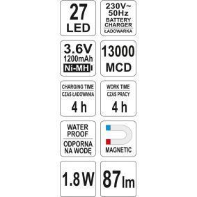 Stark reduziert: YATO Handleuchte YT-08523