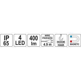 YT-08531 Lámpara de mano para vehículos