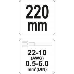 YT-2302 Cęgi Crimp od YATO narzędzia wysokiej jakości