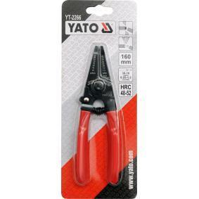YT-2266 Клещи за сваляне на изолации от YATO качествени инструменти