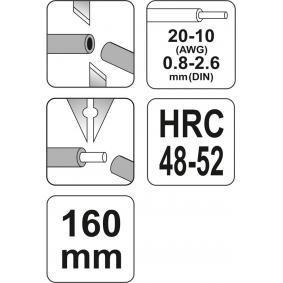 YT-2267 Pinza pelacables de YATO herramientas de calidad
