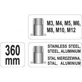 YT-36128 Alicate de rebitar de YATO ferramentas de qualidade