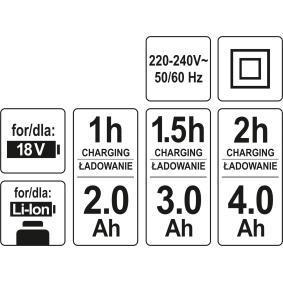 YATO Aparafusadora eléctrica sem fio YT-82848 loja online