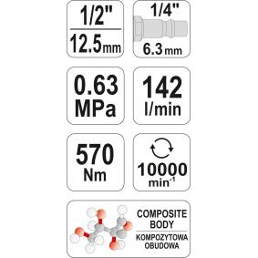 YATO Wkrętak udarowy YT-09505 sklep online