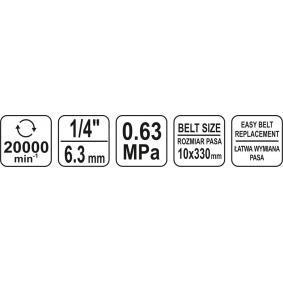 YT-09741 Smerigliatrice a nastro di YATO attrezzi di qualità