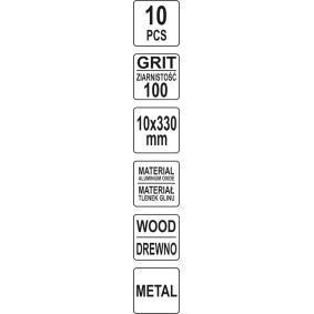 YATO Lixadeira de fita (YT-09745) a baixo preço