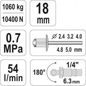 YATO Pistola de rebitar YT-36171 loja online