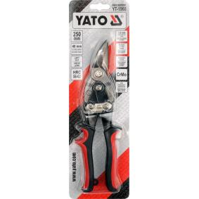 YT-1960 Blikschaar van YATO gereedschappen van kwaliteit
