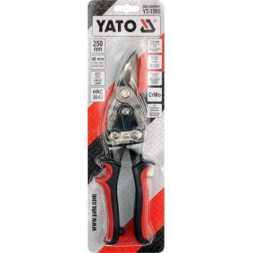 YT-1960 Nożyce do blachy od YATO narzędzia wysokiej jakości
