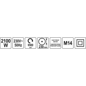 YATO Haakse slijper YT-82103 online winkel