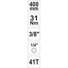 YT-0726 Umschaltknarre von YATO Qualitäts Werkzeuge