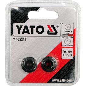YATO Roda de corte, corta-tubos YT-22313 loja online