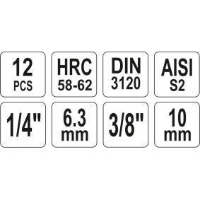 Kit de llaves de cubo de YATO YT-04332 en línea