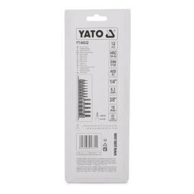 YT-04332 Zestaw kluczy nasadowych niedrogo