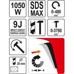 YATO Kit de martelos buriladores YT-82130 loja online