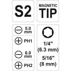 YT-25971 Destornillador de puntas de YATO herramientas de calidad