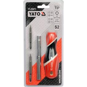 YATO Chave de fendas com bits YT-25971 loja online