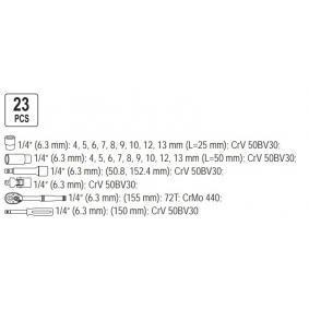 YATO Steckschlüsselsatz YT-1445 Online Shop