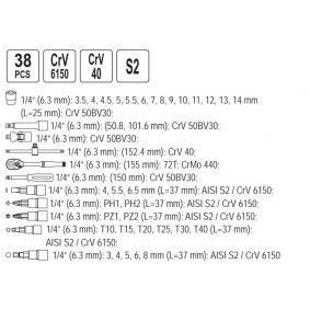 YATO Werkzeugsatz YT-1447 Online Shop