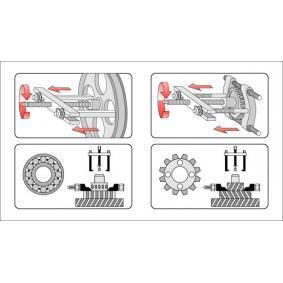 YATO Dispositivo extractor, cuchillas separadoras YT-0641 tienda online