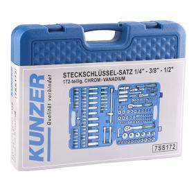 KUNZER Kit de herramientas (7SS172) a un precio bajo