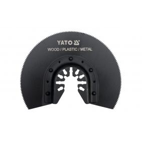 Kit discos abrasivos, lijadora múltiple YT-34680 YATO