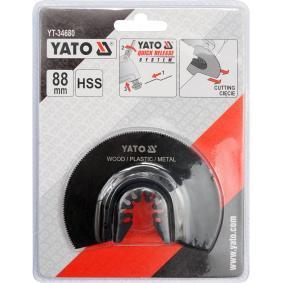 YATO Zestaw tarcz szlifierskich, szlifierka wielofunkcyjna YT-34680 sklep online