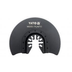 Kit discos abrasivos, lijadora múltiple YT-34681 YATO
