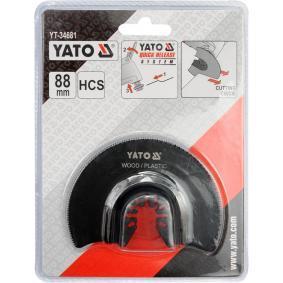 YATO Zestaw tarcz szlifierskich, szlifierka wielofunkcyjna YT-34681 sklep online