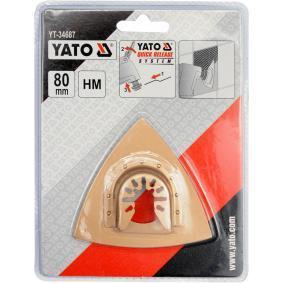 YATO Serie di dischi abrasivi, Levigatrice multifunzione YT-34687 negozio online