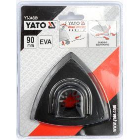 YATO Jogo de discos abrasivos, lixadeira YT-34689 loja online