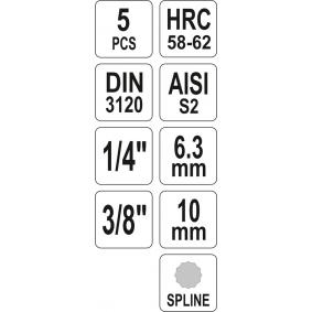 Socket Set from YATO YT-04360 online