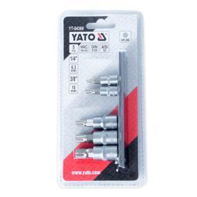 YT-04360 Zestaw kluczy nasadowych od YATO narzędzia wysokiej jakości