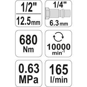 YT-09513 Ударен винтоверт от YATO качествени инструменти