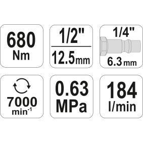YT-09524 Atornillador a percusión de YATO herramientas de calidad