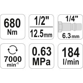 YT-09524 Cheie pneumatica de la YATO scule de calitate