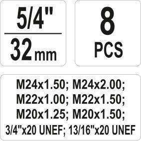 YATO Set scule filetare YT-17695 magazin online