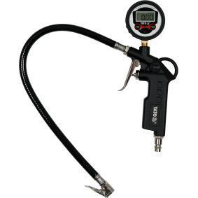 Tester / plnicka stlaceneho vzduchu v pneumatikach pro auta od YATO – levná cena