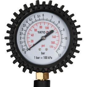 PKW Druckluftreifenprüfer / -füller YT-23703