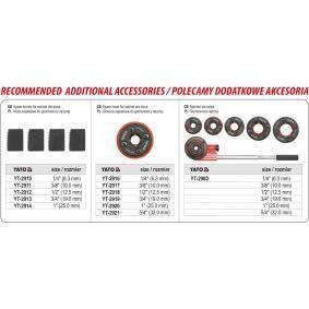YT-29001 Комплект инструмент за навиване на резба от YATO качествени инструменти