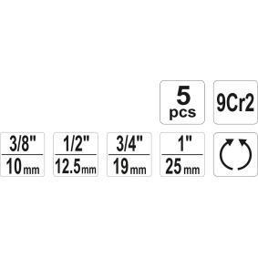 YATO Set scule filetare YT-29001 magazin online