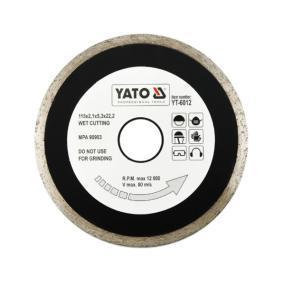 Trennscheibe, Winkelschleifer YT-6012 YATO