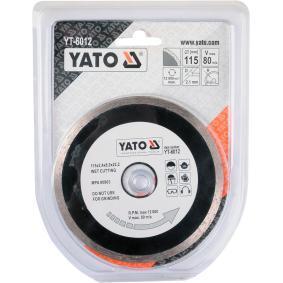 YATO Tarcza rozdzielająca, szlifierka kątowa YT-6012 sklep online