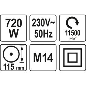 Winkelschleifer YT-82091 YATO
